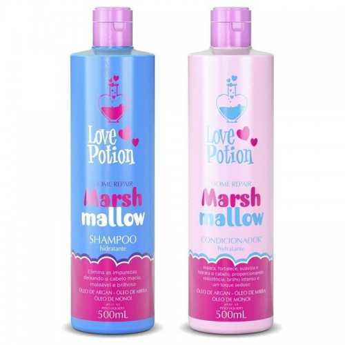 Love Potion Marsh Mallow Szampon do piel. 500ml + Odżywka 500ml
